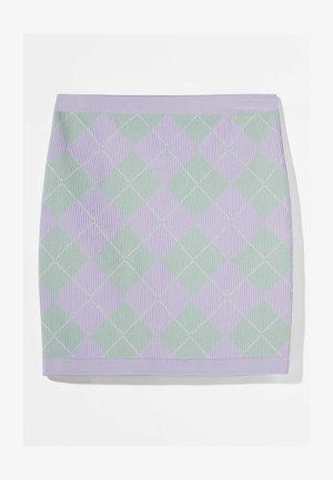 Mini skirt - mauve