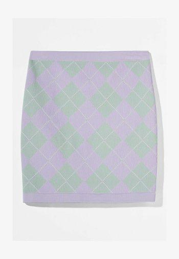 Mini skirt - mauve