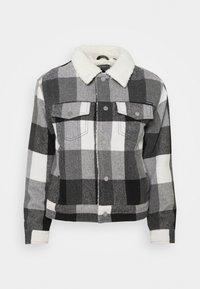 BOYFRIEND SHERPA - Winter jacket - black