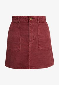 American Eagle - ALINE SKIRT - Mini skirt - berry - 3