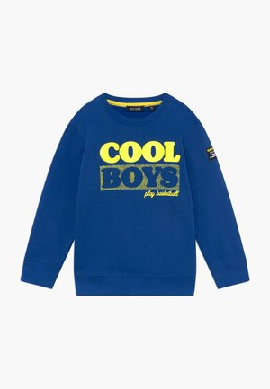 KIDS 3D COOL BOYS BASKETBALL - Sweatshirt - blue