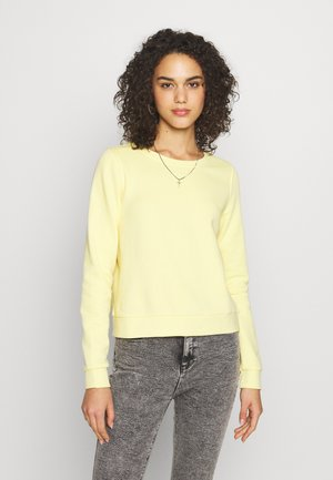 ONLWENDY ONECK - Sweatshirt - light yellow