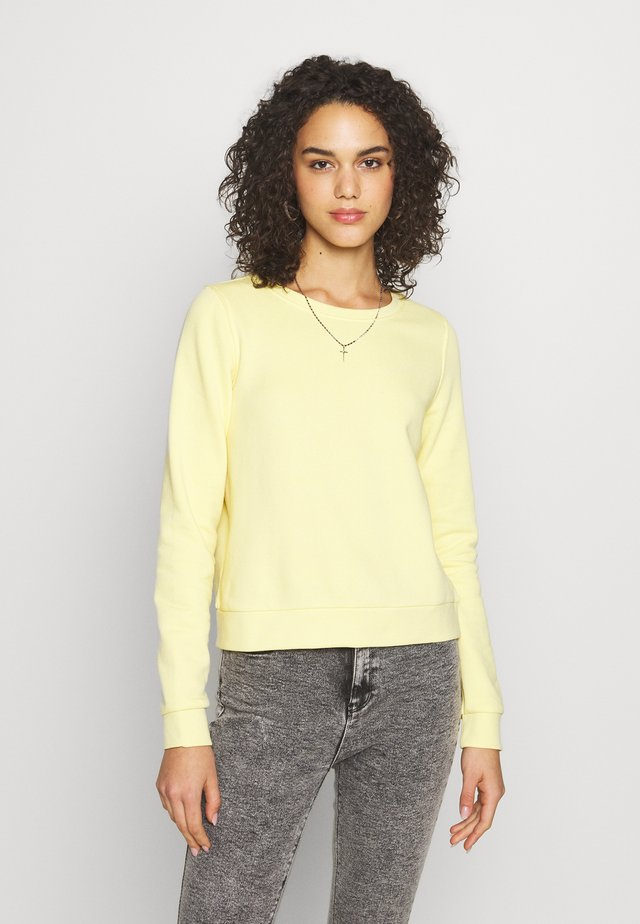 ONLWENDY ONECK - Sudadera - light yellow