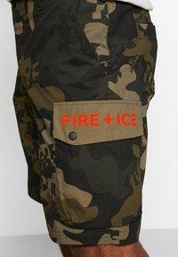 Bogner Fire + Ice - CLIO - Sports shorts - dark green - 4