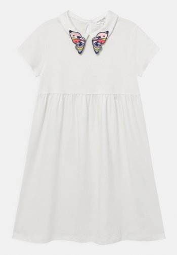Jersey dress - offwhite