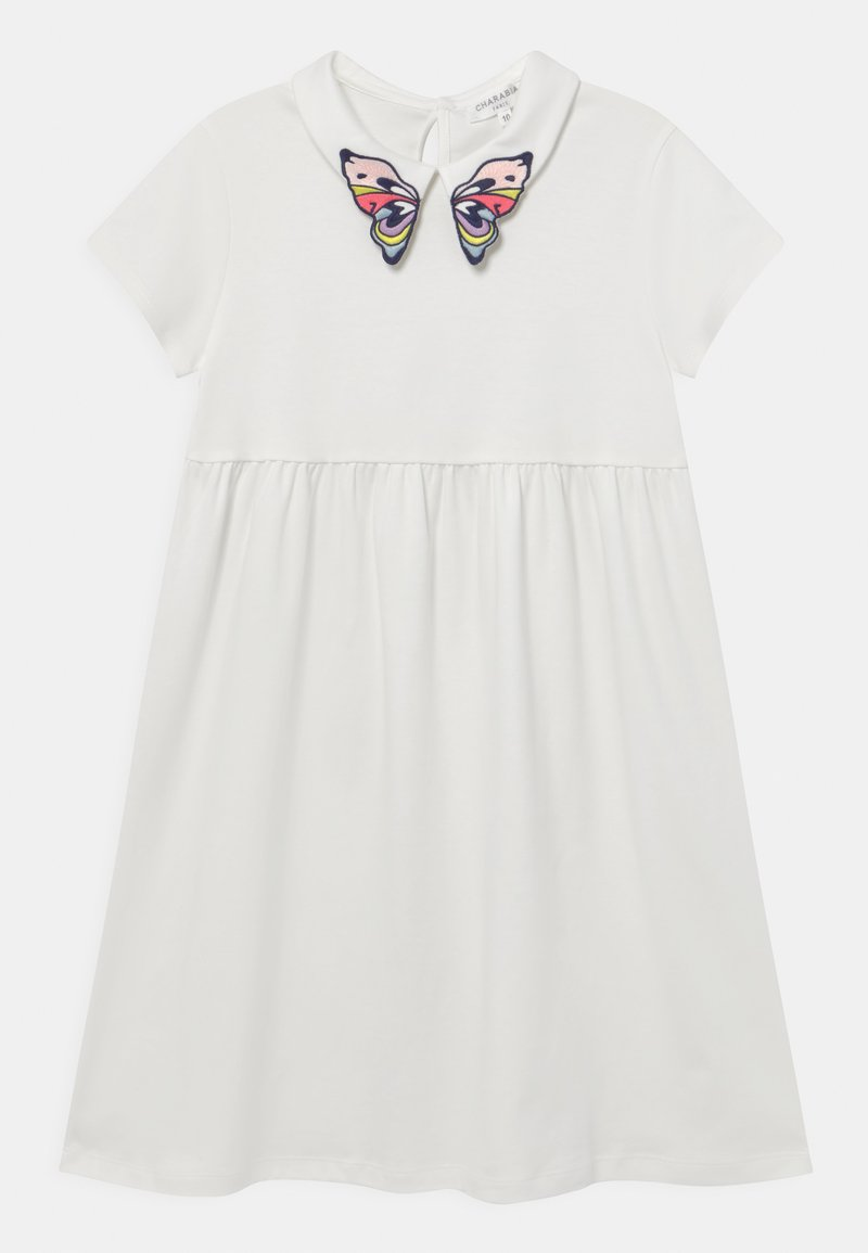 Charabia - Jersey dress - offwhite