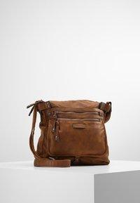Tamaris - ULLA CROSSBODY BAG - Across body bag - brown - 0