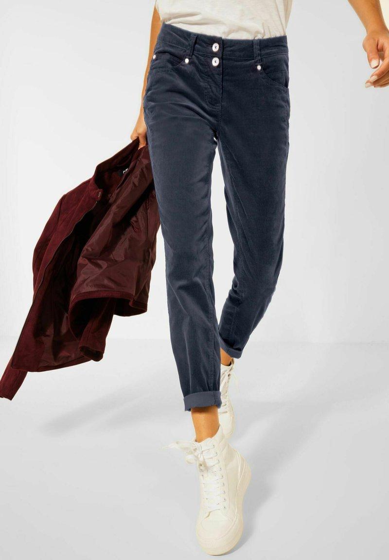 Cecil - Straight leg jeans - blau