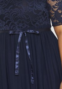 Mamalicious Curve - MLMIVANA DRESS - Juhlamekko - navy blazer - 5