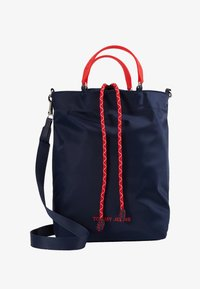 Tommy Jeans - NAUTICAL MIX TOTE - Tote bag - dark blue - 1