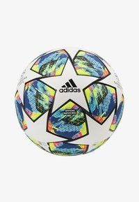 adidas Performance - FINALE - Fodbolde - white/bright cyan/shock yellow - 2