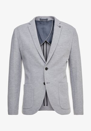SLHSLIM IKEN BLAZER - Blazer jacket - light grey melange