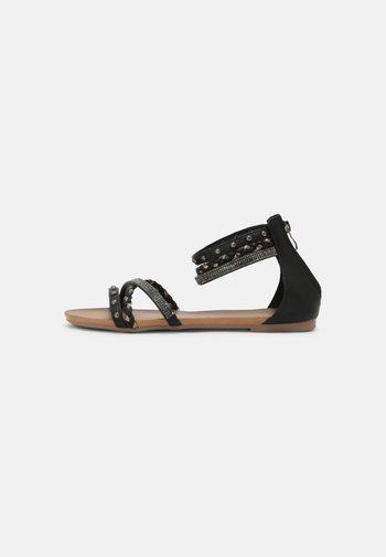 Sandales - medusa nero
