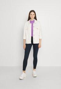 Lee - SCARLETT HIGH ZIP - Jeans Skinny Fit - dark lea - 1