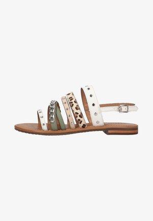 Sandals - white mint