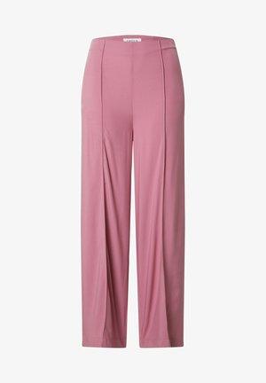 VICTORIA - Trousers - rosé