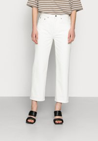 ARKET - CROPPED - Straight leg jeans - off white - 0