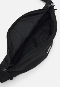 Nike Sportswear - AIR HERITAGE UNISEX - Bum bag - black/black/white - 3