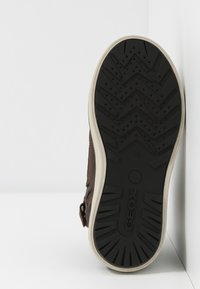 Geox - MATTIAS BOY ABX - Lace-up ankle boots - coffee/black - 5