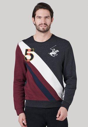 CLASSIC FIT - Sweatshirt - w dark grey