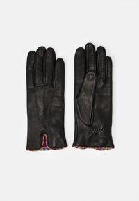 Paul Smith - GLOVE SWIRL PIPING - Gloves - black - 0
