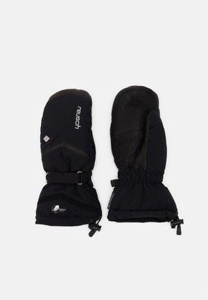 Gloves - black/silver