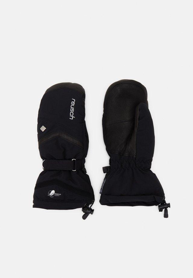 NARIA RTEX® XT MITTEN - Gloves - black/silver