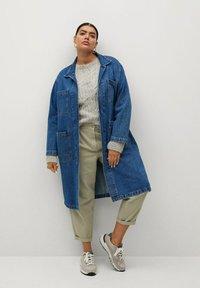 Violeta by Mango - Classic coat - mittelblau - 1