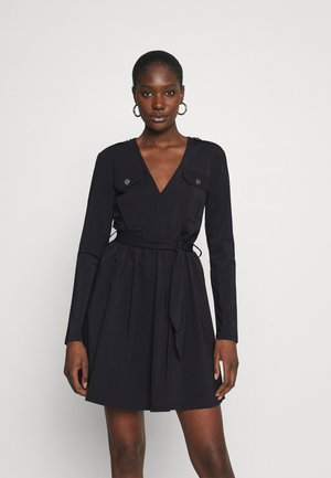 SUZY UTILITY DRESS - Shift dress - black