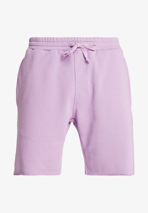 COLOR DISTRESSED  - kurze Sporthose - african violet
