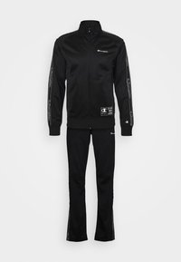 Champion - LEGACY TAPE TRACKSUIT SET - Survêtement - black