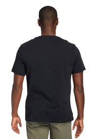 Timberland - MINK BROOK LINEAR LOGO - Print T-shirt - white - 2