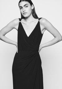Lauren Ralph Lauren - CLASSIC LONG GOWN   - Occasion wear - lighthouse navy - 4