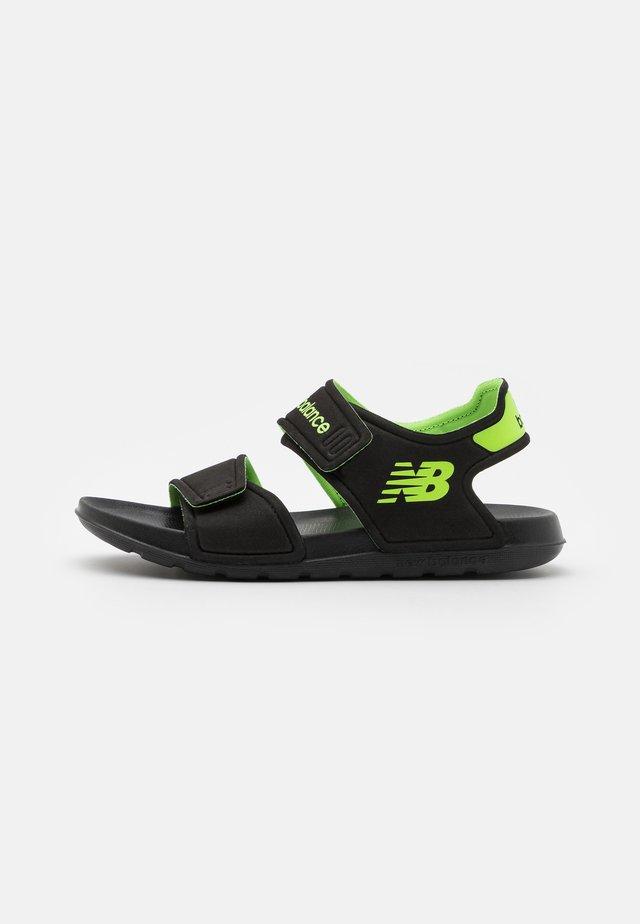 WELCRO UNISEX - Sandali da bagno - black