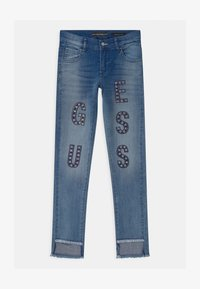 Guess - JUNIOR SKINNY  - Skinny džíny - blue denim - 0
