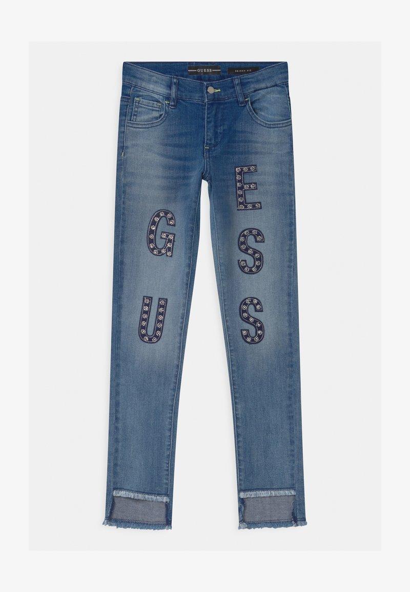 Guess - JUNIOR SKINNY  - Jeans Skinny Fit - blue denim