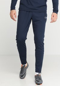 Nike Performance - DRY ACADEMY - Tracksuit bottoms - obsidian/white/white - 0