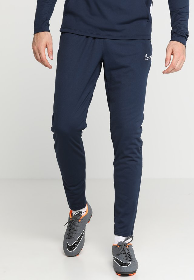 DRY ACADEMY PANT - Tracksuit bottoms - obsidian/white/white