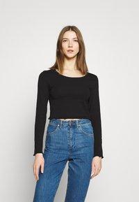 Even&Odd - 2 PACK - Maglietta a manica lunga - black/white - 3