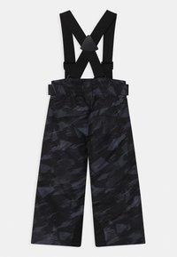 Ziener - ARISU UNISEX - Snow pants - black mountain - 1