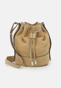 The Kooples - TINA KUNAKEY MEDIUM BUCKET BAG - Handtas - beige - 0