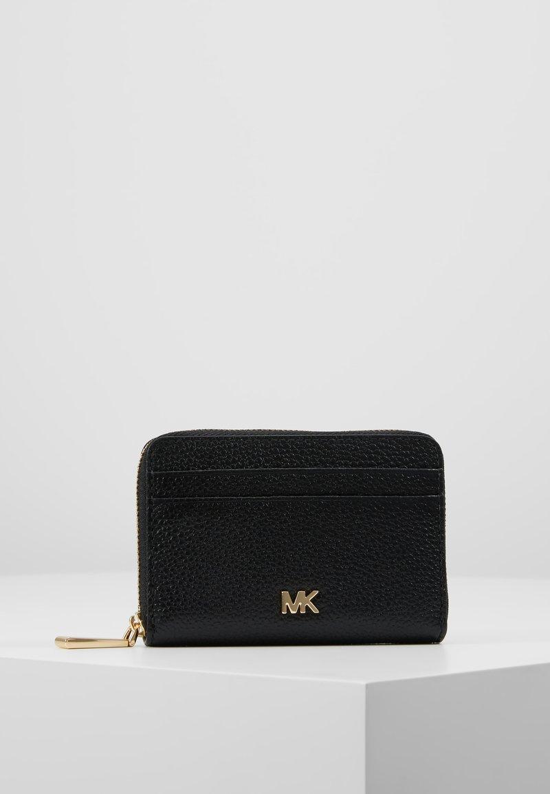 MICHAEL Michael Kors - MOTTZA COIN CARD CASE MERCER PEBBLE - Peněženka - black