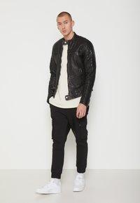 Be Edgy - BEANDY - Leather jacket - black - 1