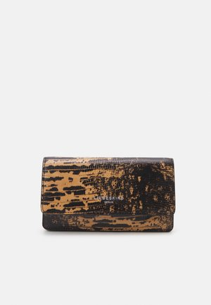 ELLA LIZARD WALLET LARGE - Wallet - pale honey
