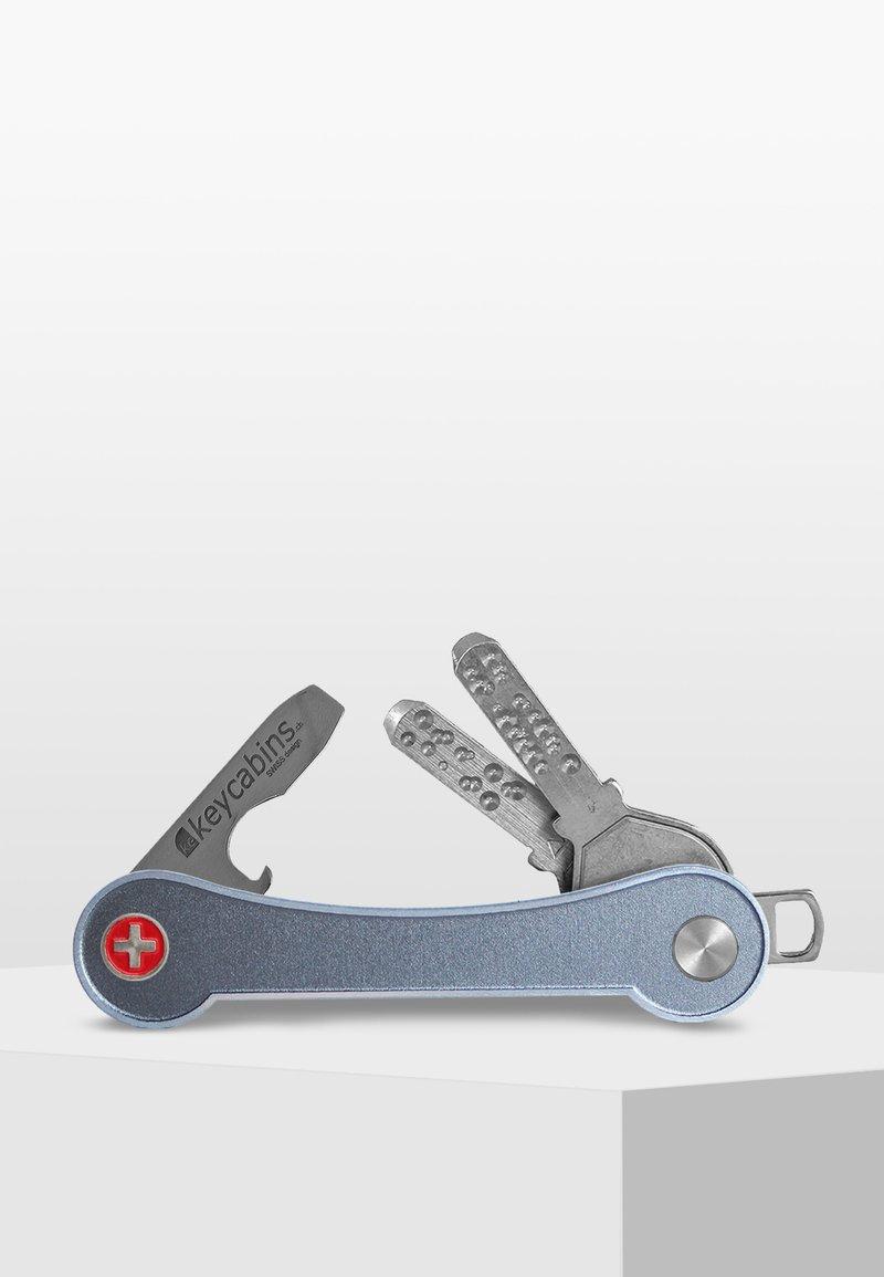 Keycabins - FRAME - Keyring - grey-frame