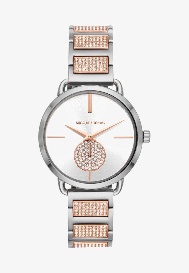 PORTIA - Reloj - roségold-coloured/silber-coloured
