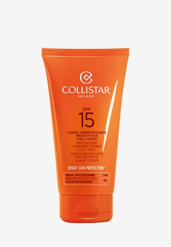 PROTECTIVE TANNING CREAM SPF 15 - Sun protection - -