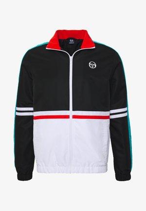 FELIX TRACKTOP - Training jacket - black/white/blue bird