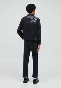 PULL&BEAR - Giacca di jeans - black - 2