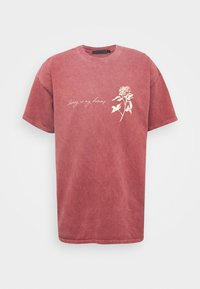 Mennace - IN MY DREAMS - T-shirt con stampa - oxblood - 3